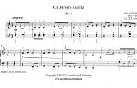 Bartok-Childrens-Game-No.-8